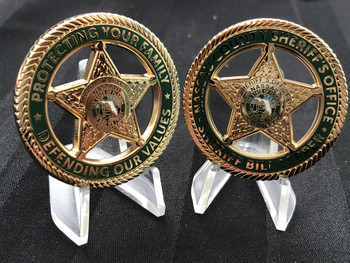 NASSAU CTY SHERIFF FL DEFENDING OUR VALUES CHALLENGE EBAY