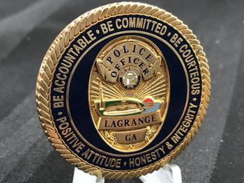 LAGRANGE GA POLICE CHALLENGE COIN