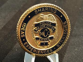 MAJOR CITY POLICE CHIEFS  COIN