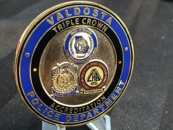 VALDOSTA GA POLICE CHALLENGE COIN