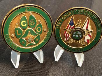 LEVY CTY SHERIFF FL OFFICE K-9 COIN EBAY COPBAY