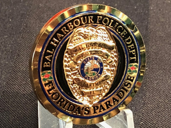 BAL HARBOUR FL POLICE COIN