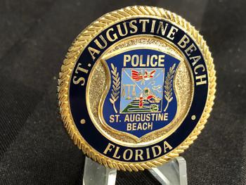 ST. AUGUSTINE BEACH POLICE FL COIN