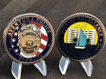 AVENTURA POLICE FL    CITY OF EXCELLENCE COIN