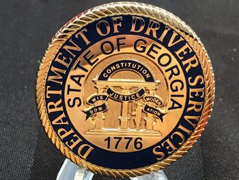 GA DRIVERS SERVICE COIN