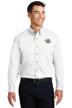 Port Authority® Long Sleeve Twill Shirt (FLF)