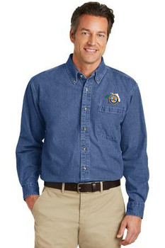 Port Authority® Heavyweight Denim Shirt (FLF)