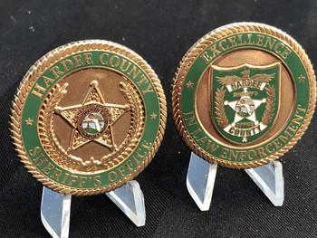 HARDEE CTY SHERIFF FL COIN