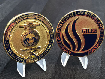GEORGIA INTL LAW ENFORCEMENT EXCHANGE 25TH COIN