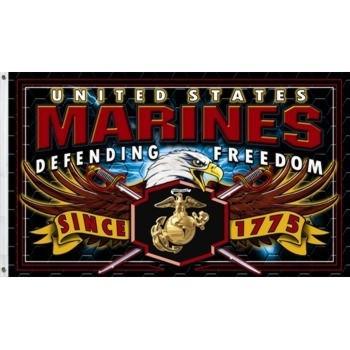 STRIKE FORCE FLAG: MARINE