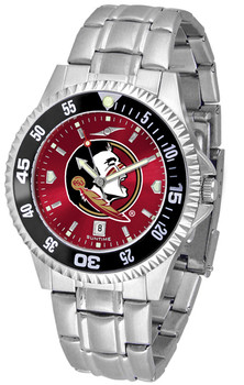 Florida State Seminoles – Competitor Steel AnoChrome – Color Bezel