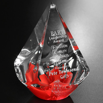 Pick the Red Quatro Pyramid for the most creative and innovative recipient. They will love the lovely rounded pyramid and will proudly show it off.