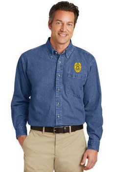 Port Authority® Heavyweight Denim Shirt (CAS)