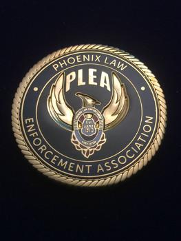 PHOENIX LAW ENFORCEMENT ASSOCIATION COIN