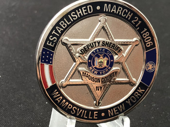 MADISON CTY SHERIFF NY STOP DWI COIN