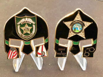 HILLSBOROUGH SHERIFF WARRIOR FACE COIN