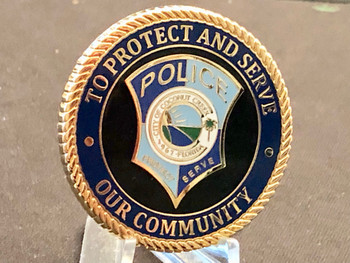 COCONUT CREEK POLICE FL COIN