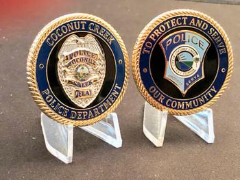 COCONUT CREEK POLICE FL COIN