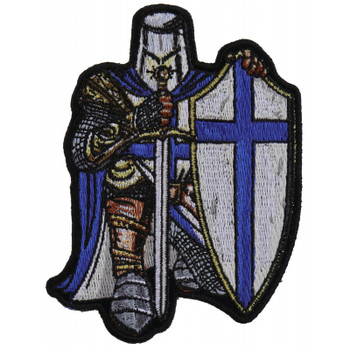Blue Crusader Knight Patch