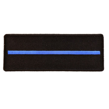 Thin Blue Line Patch For Law Enforcement