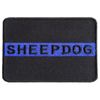 Thin Blue Line Sheepdog Patch