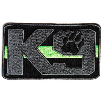 K-9 Thin Green Line Patch