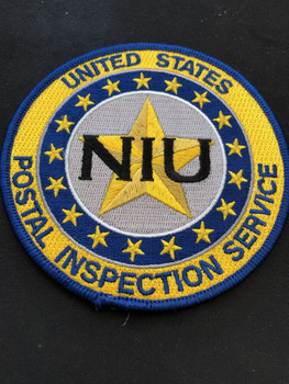 US POSTAL INSPECTION SERVICE NIU PATCH RARE
