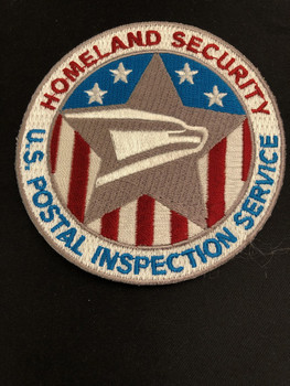 US POSTAL INSPECTION SERVICE HOMELAND PATCH RARE