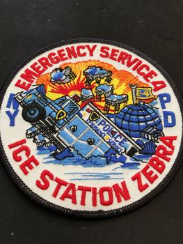 NYPD ICE STATION ZEBRA PATCH