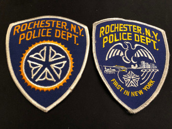 ROCHESTER POLICE COMBO RARE PATCHES