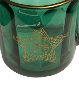 GREEN POLK CTY SHERIFF COFFEE MUG