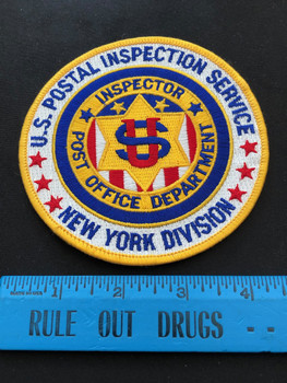 POSTAL NEW YORK DIV PATCH