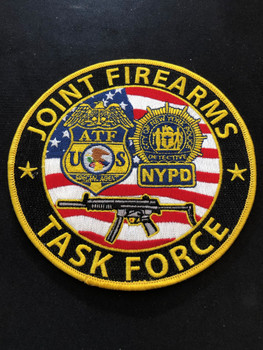 ATF NYPD FIREARMS TASK FORCE PATCH