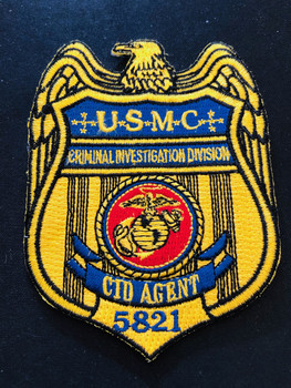 USMC 5821 CID PATCH