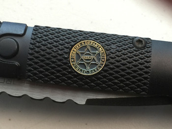 "SHERIFF""s logo Survival Knife"