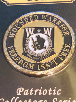 WOUNDED WARRIOR COIN