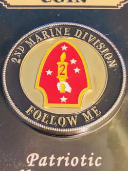 2ND  MARINE DIV. COIN