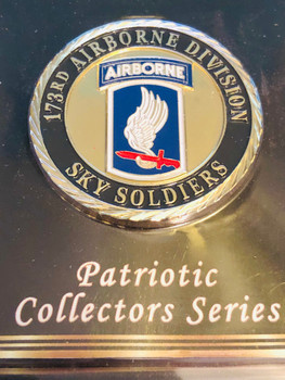 ARMY 173RD AIRBORNE COIN
