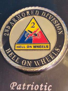 ARMY 2ND ARMORED DIV COIN
