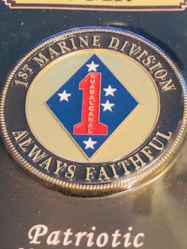 1ST MARINE DIV.COIN