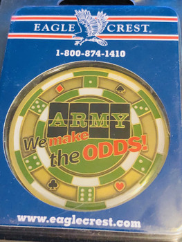 ARMY WE BEAT THE ODDS COIN