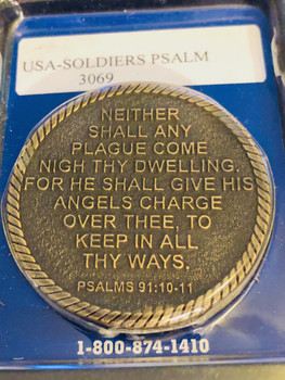 THERE SHALL NO EVIL BEFALL THEE COIN