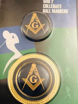 MASONIC BALL MARKER COIN