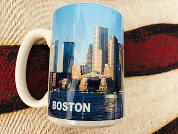 BOSTON POLICE CALEA MUG  VERY RARE LAST ONE