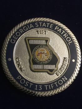 Georgia STATE PATROL COIN RARE