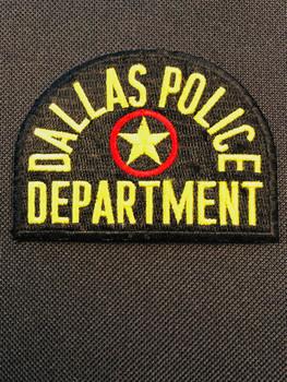 DALLAS TX POLICE Patch PADFOLIO