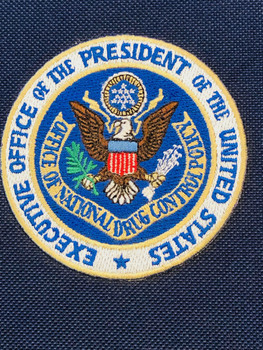 DRUG CZAR OFFICE OF THE PRESIDENT PATCH