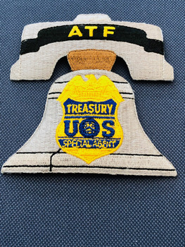 ATF PHILLY PADFOLIO PATCH ON BLUE