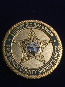 PALM BEACH SHERIFF FL COIN RARE