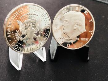 PRESIDENT TRUMP COIN SILVER